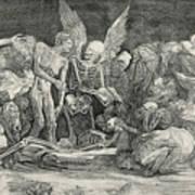 The Skeletons Art Print