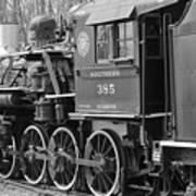 The Steam Engine  Art Print