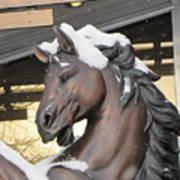 The Stood Horse  Art Print