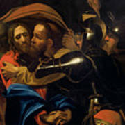 The Taking Of Christ Art Print