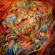 The Tale About Fiery Rooster Art Print