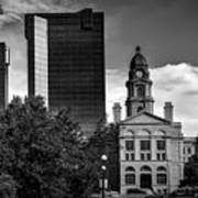 The Tarrant County Courthouse Art Print