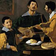 The Three Musicians Art Print