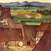 The Trefilerada On Peignitz  Art Print