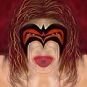The Ultimate Warrior  Art Print