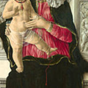 The Virgin And Child Enthroned Art Print