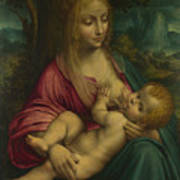 The Virgin And Child Art Print