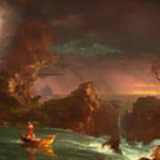 The Voyage Of Life - Manhood Art Print