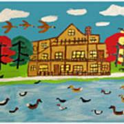 The Wildlife Hotel Art Print