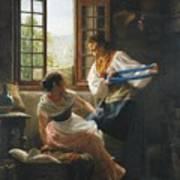 The Wool Winders Art Print