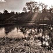 Thornton Reservoir, Leicestershire Art Print