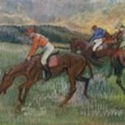Three Jockeys Art Print