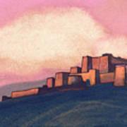 Tibetan Fortress Art Print