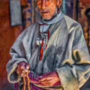 Tibetan Refugee - Paint Art Print