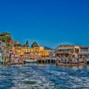 Tiburon Waterfront Art Print