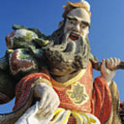 Tin Hua Temple Art Print