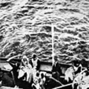 Titanic: Lifeboats, 1912 Art Print