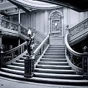 Titanic's Grand Staircase Art Print