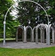 Toledo Botanical Garden Arches Art Print