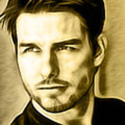 Tom Cruise Collection Art Print