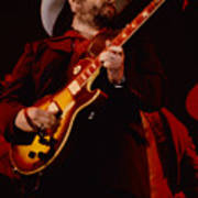 Toy Caldwell Of Themarshall Tucker Band At The Cow Palace Art Print