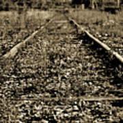 Tracks  To Where Art Print