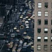 Traffic In New York City. View Print by Everett