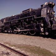 Train Engine #2732 Art Print