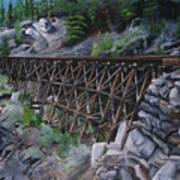 Train Ghosts IIi Art Print