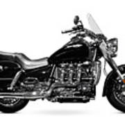 Triumph Rocket IIi Motorcycle Art Print