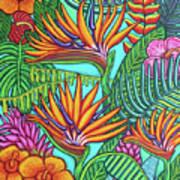 Tropical Gems Art Print