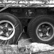 Truck Tires Art Print