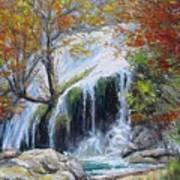 Turner Falls Oklahoma Art Print