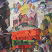 Tverskoy Boulevard Art Print