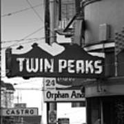 1 Twin Peaks Bar In San Francisco Art Print by Wingsdomain Art and Photography
