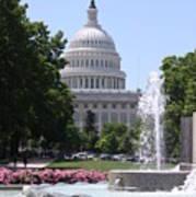 U S Capitol Art Print