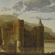 Ubbergen Castle Art Print