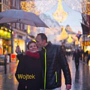 Ula And Wojtek Engagement 12 Art Print