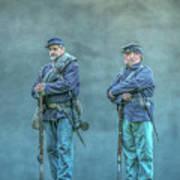 Union Civil War Soldiers  Art Print