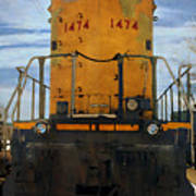 Union Pacific 1474 Art Print
