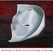 University Of South Carolina College Of Nursing Art Print