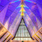 Us Air Force Academy Chapel Art Print