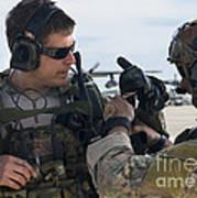 U.s. Air Force Combat Controllers Art Print