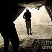 U.s. Air Force Pararescuemen Jump Art Print