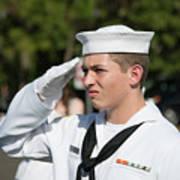 Us Naval Sea Cadet Corps - Gulf Eagle Division, Cape Coral, Florida Art Print