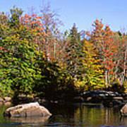 Usa, New York, Adirondack State Park Art Print