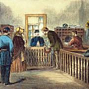 Va: Freedmens Bureau 1866 Art Print