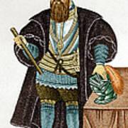 Vasco Da Gama, Portuguese Explorer Art Print
