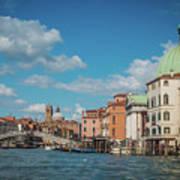 Venice Panorama Art Print
