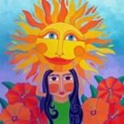 Verano Amor Art Print